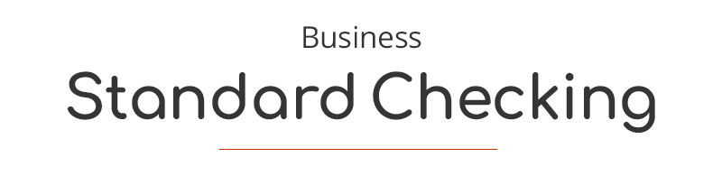 Business Standard Checking